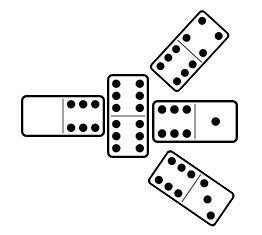 Illegal match in Classic Dominoes