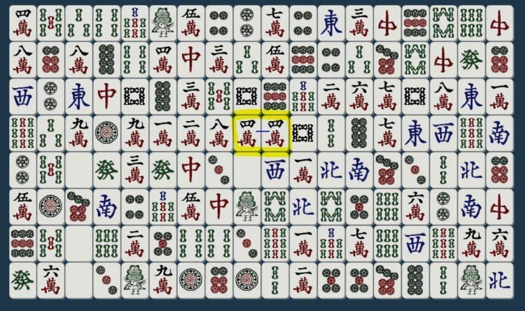 Shisen-Sho matching tiles