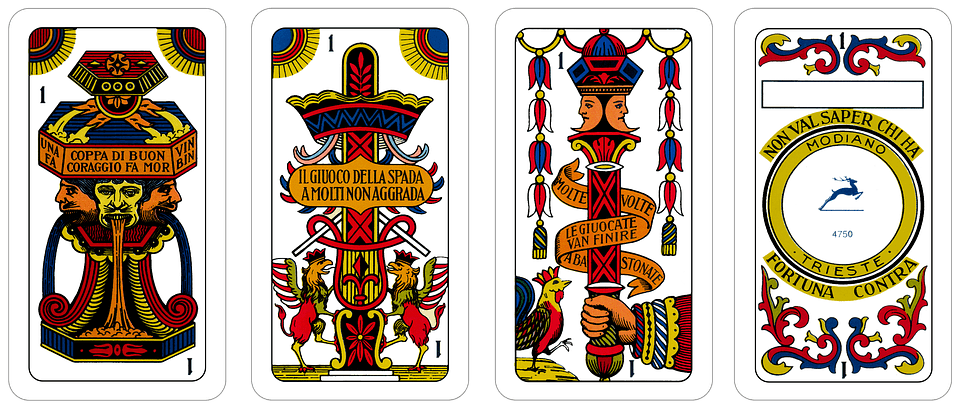 Briscola card game
